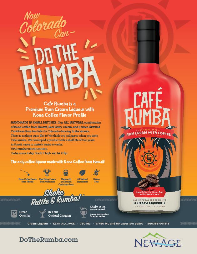 Café Rumba Colorado Sell Sheet