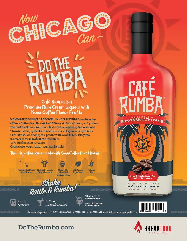 Café Rumba Chicago Sell Sheet