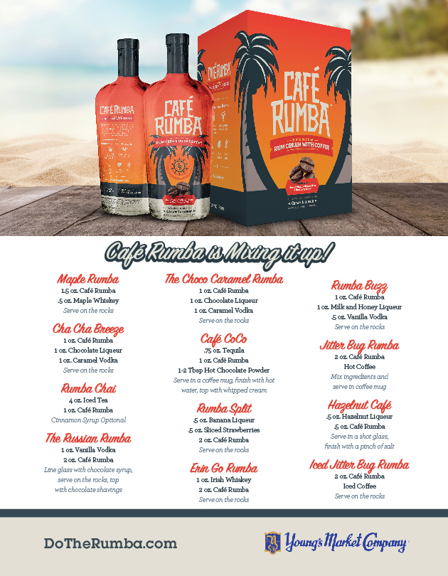 Café Rumba Hawaii Sell Sheet