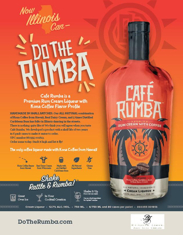 Café Rumba Illinois RJ Distributing Sell Sheet