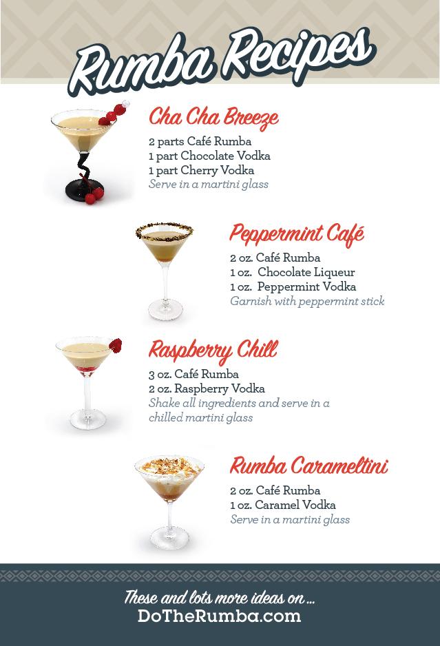 Martini Recipe Card